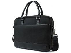 """Нейлоновая сумка WIWU London Business Bag для MacBook 13"""" - Black"""
