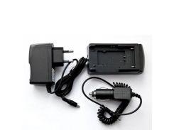 Зарядное устройство для фото PowerPlant NP-BN1, NP-110, DB-L90, LI-70B, BN-VG107, BN-VG144 (DB27DV2291)