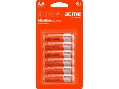 Батарейка ACME AA Alcaline * 6 (4770070868492)