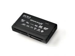 Card Reader внешний Grand-X All-in-One 64Gb to 2Tb SDXC (CRX05Black)