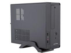 Корпус LogicPower S621 Black, 400W 80 mm, 20+4pin, Micro ATX / Mini ITX, SATA x 2, USB2.0 x 2, 2x3.5mm, 5.25 x 1, 3.5 x 1, 0.6mm, 380x285x95