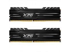 Модуль памяти для компьютера DDR4 16GB (2x8GB) 3000 MHz XPG GD10-HS Black ADATA (AX4U300038G16-DBG)