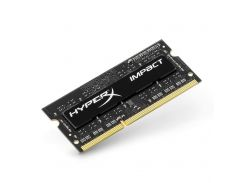 Память SO-DIMM 4Gb, DDR3, 1600 MHz (PC3-12800), Kingston HyperX IMPACT, 1.35V, CL9 (HX316LS9IB/4)