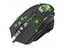 Мышь Defender Killer GM-170L, USB, + коврик, подсветка