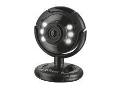Web камера Trust SpotLight Pro Black, 1.3 Mpx, 640x480, USB 2.0, встроенный микрофон