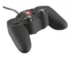 Геймпад Trust GXT 24, Black, USB, для PC, 2 аналоговых стика, 16 кнопок (17416)