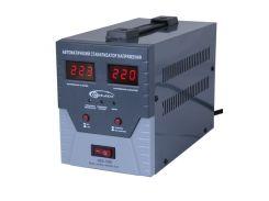 Стабилизатор Gemix GDX-1000 1000VA (700 Вт), вход. напряжение 140-260В, вых напряжение 220В + - 6,8% 50 Гц, цифровые индикаторы
