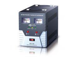 Стабилизатор Gemix GMX-1000 1000VA (700 Вт), вход. напряжение 140-260В, вых напряжение 220В + - 6,8% 50 Гц, стрелочный