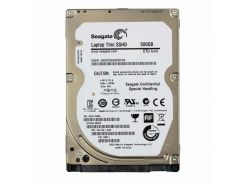 """Жесткий диск 2.5"""" 500Gb Seagate Laptop Thin SSHD, SATA3, 64Mb, 5400 rpm + 8Gb SSD (ST500LM000) (Ref)"""