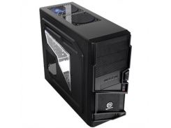 Корпус Thermaltake Commander MS-I, Black, Mid Tower, без БП, для ATX / Micro ATX, ATX PSU, 202 x 484 x 426 мм, 4,5 кг (1x120 мм Blue LED Fan в