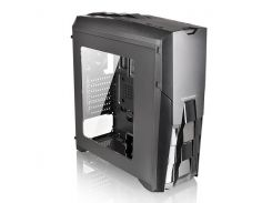 Корпус Thermaltake Versa N25, Black, Mid Tower, без БП, для ATX / Micro ATX / Mini ITX, ATX PSU, 490 x 197 x 463 мм, 4,6 кг (1x120 мм Fan в комплекте)