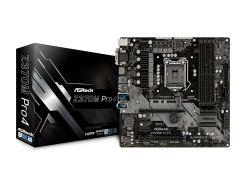 Мат.плата 1151 (Z370) AsRock Z370M Pro4, Z370, 4xDDR4, CrossFire, Int.Video(CPU), 6xSATA3, 2xM.2, 2xPCI-E 16x 3.0, 2xPCI-E 1x 3.0, ALC892, I219-V,