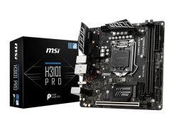 Мат.плата 1151 (H310) MSI H310I PRO, H310, 2xDDR4, Int.Video(CPU), 4xSATA3, 1xM.2, 1xPCI-E 16x 3.0, 2xM.2 (Key E), ALC887, RTL8111H,