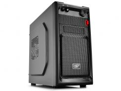 "Корпус Deepcool SMARTER Minitower Black, без БП, Micro ATX / Mini ITX, 3.5mm х 2, USB2.0 x 1, USB3.0 x 1, 5.25"" x 1, 3.5"" x 3, 0.5mm"