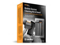 """Чистящий комплект ColorWay Premium """"Компакт"""" для мобильных устройств (CW-1076)"""