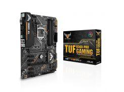 Мат.плата 1151 (B360) Asus TUF B360-PRO GAMING, B360, 4xDDR4, CrossFire, Int.Video(CPU), 6xSATA3, 2xM.2, 2xPCI-E 16x 3.0, 4xPCI-E 1x 3.0, ALC887,
