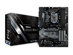 Мат.плата 1151 (B360) AsRock B360 Pro4, B360, 4xDDR4, CrossFire, Int.Video(CPU), 6xSATA3, 2xM.2, 2xPCI-E 16x 3.0, 3xPCI-E 1x 3.0, 1xM.2 (Key E),