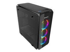 "Корпус Cougar Puritas RGB, Middle Tower, Mini ITX / Micro ATX / ATX, 2*3.5""+4*2.5"", 3 Vortex LED Fans, Fan Controller, 218 x 520 x 490 мм"