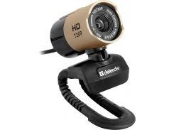 Web камера Defender G-LENS 2577 Black, 2 Mpx, 1280x720, USB 2.0, встроенный микрофон