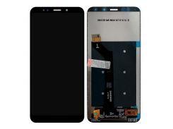 Дисплей Xiaomi Redmi 5 Plus черный with сенсор