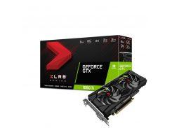 Видеокарта GeForce GTX 1660 Ti OC, PNY, XLR8 Gaming OC, 6Gb DDR6, 192-bit, DVI/HDMI/DP, 1815/12000 MHz, 8-pin (VCG1660T6DFPPB-O)