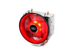 Вентилятор CPU Deepcool GAMMAXX 300R, 121x75.5x144мм 900-1600 об/мин (1366/1150/1151/1155/1156/775/FM1/FM2/AM2/AM2+/AM3/AM3+/AM4/K8)