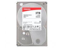 "Жесткий диск 3.5"" 3Tb Toshiba P300, SATA3, 64Mb, 7200 rpm (HDWD130UZSVA)"