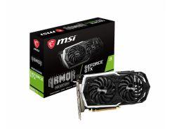 Видеокарта GeForce GTX 1660 Ti OC, MSI, ARMOR, 6Gb DDR6, 192-bit, HDMI/3xDP, 1860/12000 MHz, 8-pin (GTX 1660 Ti ARMOR 6G OC)