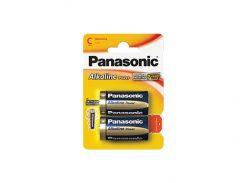 Батарейка C (LR14), щелочная, Panasonic Alkaline Power, 2 шт, 1.5V, Blister (LR14APB/2BP)