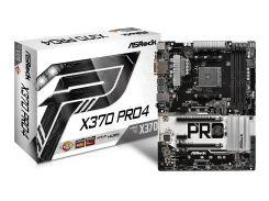 Мат.плата AM4 (X370) AsRock X370 Pro4, X370, 4xDDR4, CrossFireX, Int.Video(CPU), 6xSATA3, 2xM.2, 2xPCI-E 16x 3.0, 4xPCI-E 1x 2.0, ALC892, RTL8111GR,