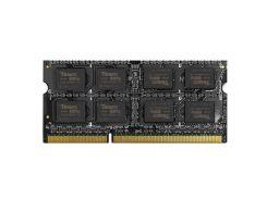 память so-dimm 8gb, ddr3, 1600 mhz (pc3-12800), team elite, 1.35v (ted3l8g1600c11-s01)