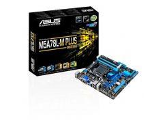 Мат.плата AM3+ (760G) Asus M5A78L-M PLUS/USB3, 760G/SB710, 4xDDR3, Radeon HD 3000, 6xSATA2, 1xPCI-E 16x, 1xPCI-E 1x, 1xPCI, ALC887, RTL8111H,