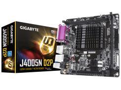 Мат.плата с процессором Gigabyte J4005N D2P, Celeron J4005 (2x2.0-2.7GHz), 2xDDR4, UHD Graphics 600, 2xSATA3, 1xM.2, 1xPCI-E 16x 2.0, 1xM.2 (для