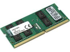 Память SO-DIMM 16Gb, DDR4, 2400 MHz, Kingston, 17-17-17, 1.2V (KVR24S17D8/16)