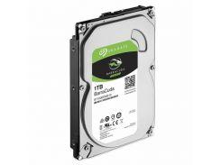 """Жесткий диск 3.5"""" 1Tb Seagate BarraCuda, SATA3, 64Mb, 7200 rpm (ST1000DM010)"""
