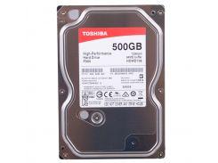 "Жесткий диск 3.5"" 500Gb Toshiba P300, SATA3, 64Mb, 7200 rpm (HDWD105UZSVA)"