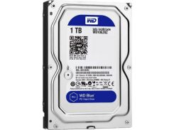 "Жесткий диск 3.5"" 1Tb Western Digital Blue, SATA3, 64Mb, 5400 rpm (WD10EZRZ)"