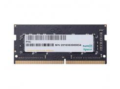Память SO-DIMM 4Gb, DDR4, 2666 MHz, Apacer, 1.2V, CL19 (ES.04G2V.KNH)