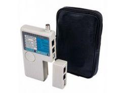 Тестер кабельный RJ-45, RJ-12, BNC, USB ESERVER (WT-4065)