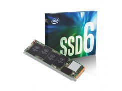 Твердотельный накопитель M.2 1Tb, Intel 660p, PCI-E 4x, 3D QLC, 1800/1800 MB/s (SSDPEKNW010T8X1)
