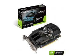 Видеокарта GeForce GTX 1650, Asus, PHOENIX, 4Gb DDR5, 128-bit, DVI/HDMI/DP, 1695/8000 MHz (PH-GTX1650-4G)
