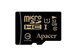 Карта памяти microSDHC, 32Gb, Class10, Apacer без адаптера, AP32GMCSH10U1-RA
