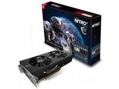 Видеокарта Radeon RX 570 OC, Sapphire, NITRO+, 4Gb DDR5, 256-bit, DVI/2xHDMI/2xDP, 1340/7000MHz (11266-14-20G)