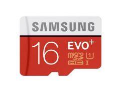 Карта памяти Samsung 16GB microSD class 10 UHS-I EVO PLUS (act_MB-MC16DA/RU)