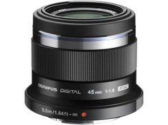 Объектив OLYMPUS ET-M4518 45mm 1:1.8 Black (V311030BE000)