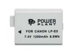 Аккумулятор к фото/видео Canon LP-E5 PowerPlant (DV00DV1225)