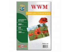 Бумага WWM A4 (SM260.100)
