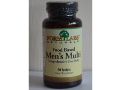 Food Based Men's Multi 60 табл. (витамины)