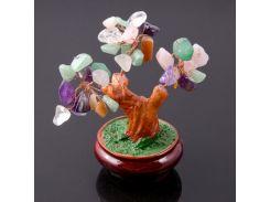 """Денежное дерево из самоцветов - """"Счастье в горшочке"""""""