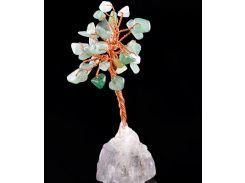 Денежное дерево из натурального Нефрита 8 см